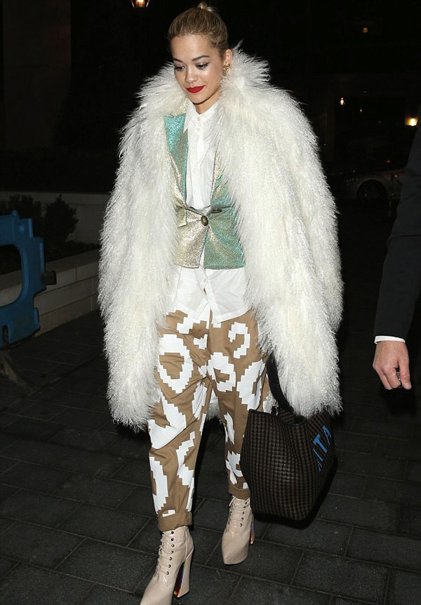 Rita-Ora-London-Vivienne-Westwood-Platform-Patent-Leather-Booties-and-Fendi-Bag